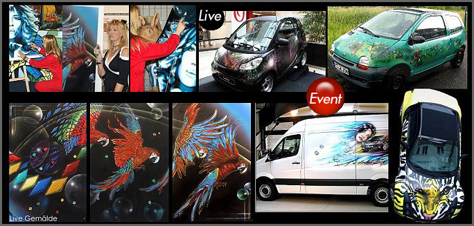 Bodypainting Live Event