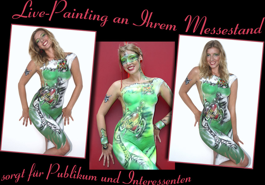 Bodypainting Messe Hannover