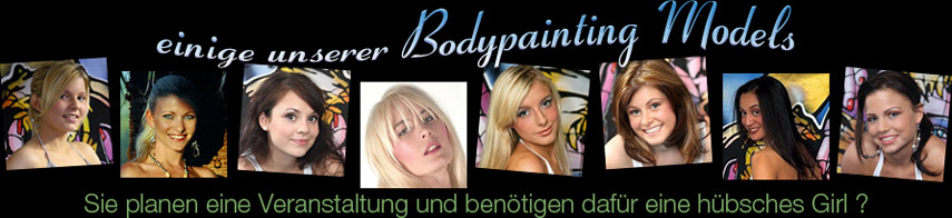 bodypainting models
