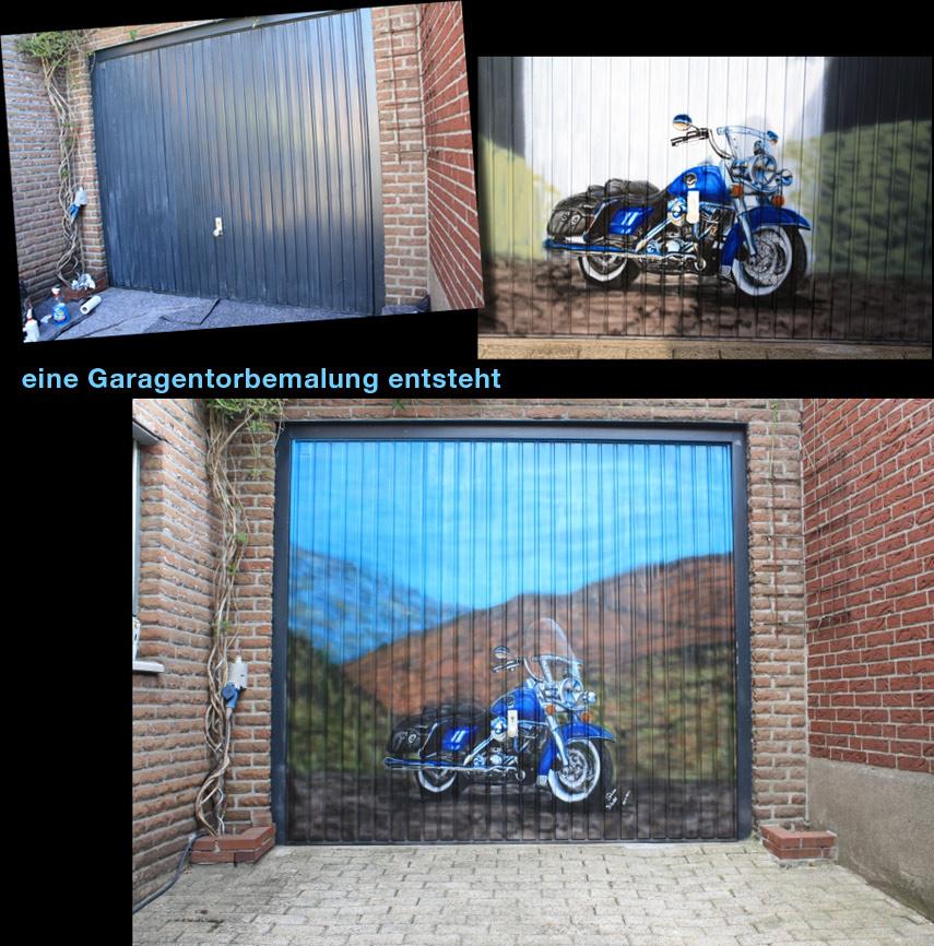 Garagentor Verschönern graffiti-garagentor, nrw, ideen für individuelle garagentore