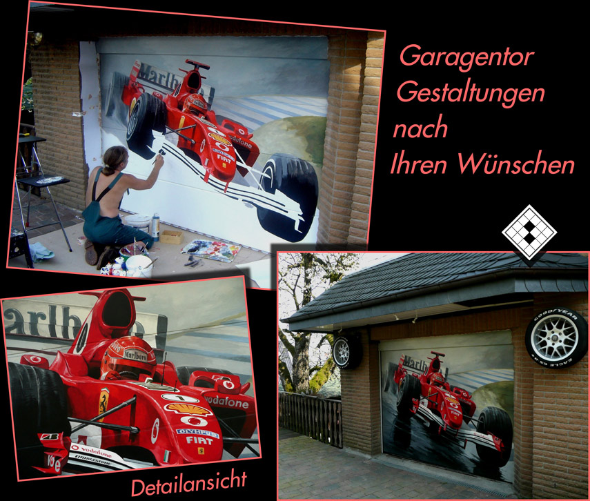 Garagentore Düsseldorf garagentorbemalungen nrw torbemalung dortmund garagentore