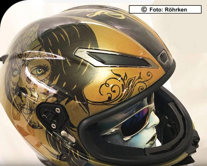 Airbrush Helme Nrw Helmdesign Helmbemalung Dortmund