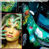 Live Car-Painting