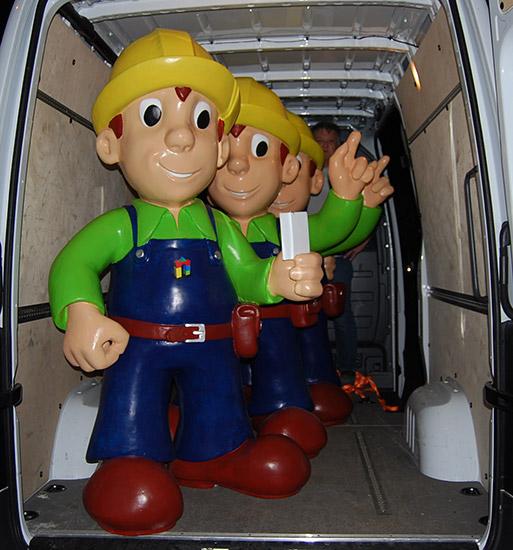 Werbefiguren hersteller dekofiguren lebensgro figuren herstellung messe skulpturen - Fensterbauer frankfurt ...
